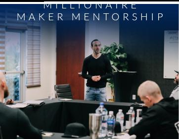 Millionaire Maker Mentorship