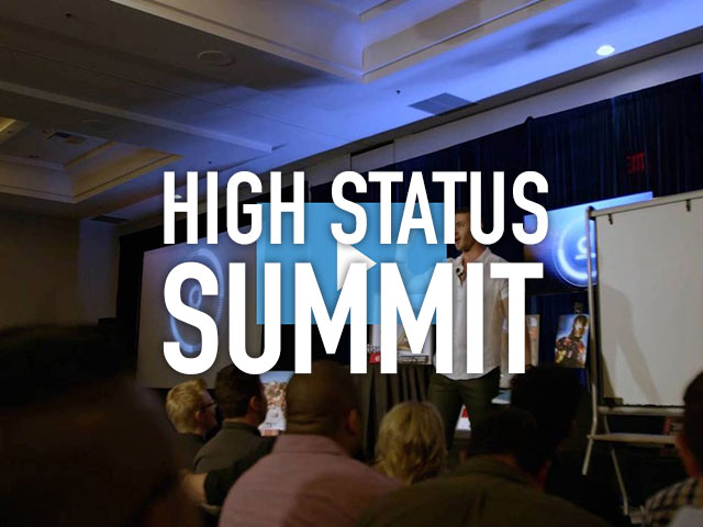 Speaking at High Status Summit